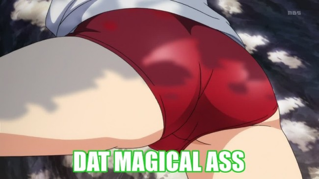 Vividred 01 Red Bloomers Ass
